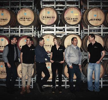 Calabria Family Wines winemaking team Riverina Wine Region