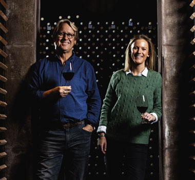 AFFW - Robert and Jessica Hill-Smith of Yalumba