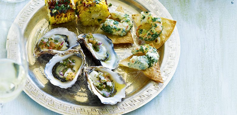 Prosecco Food Match With Mediterranean Oysters