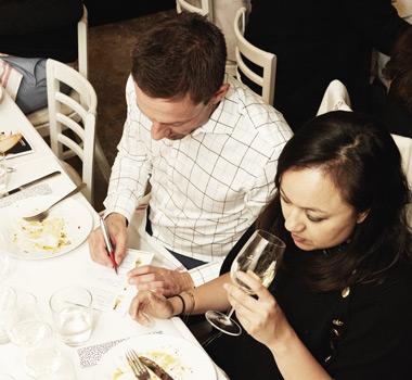 Wine Selectors member tasting