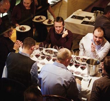 wine selectors shiraz member event