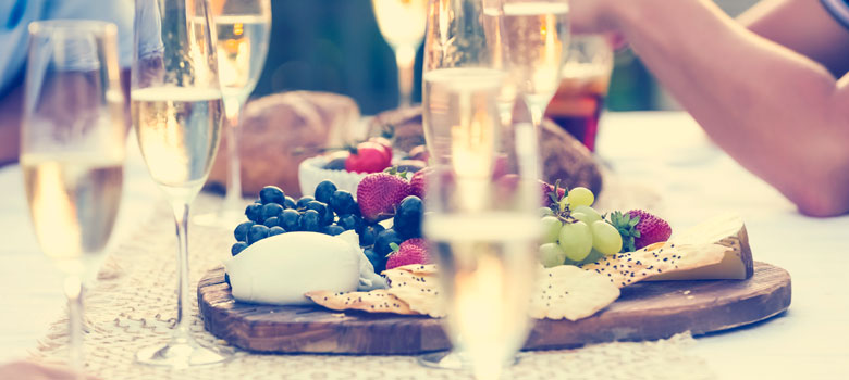 Food & Wine Matching Guide: Sparkling Wine