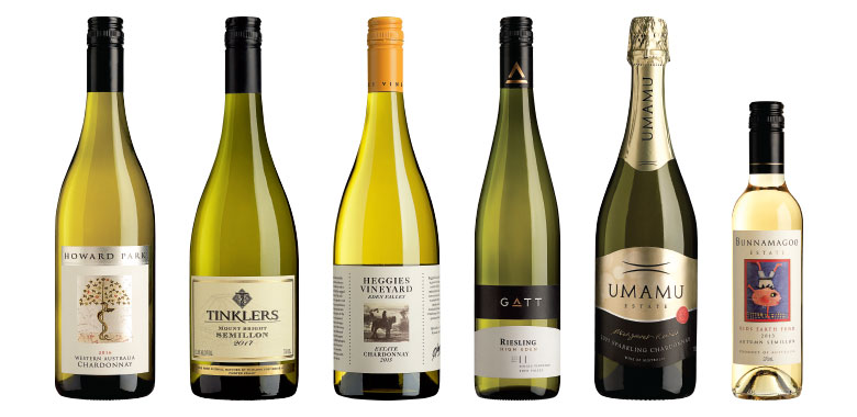 Top whites of 2017 - Howard Park | Tinklers | Heggies Vineyard | Gatt | Umamu | Bunnamagoo Estate