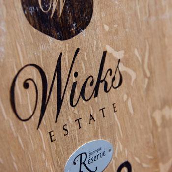 Wicks Estate Wines Barrell