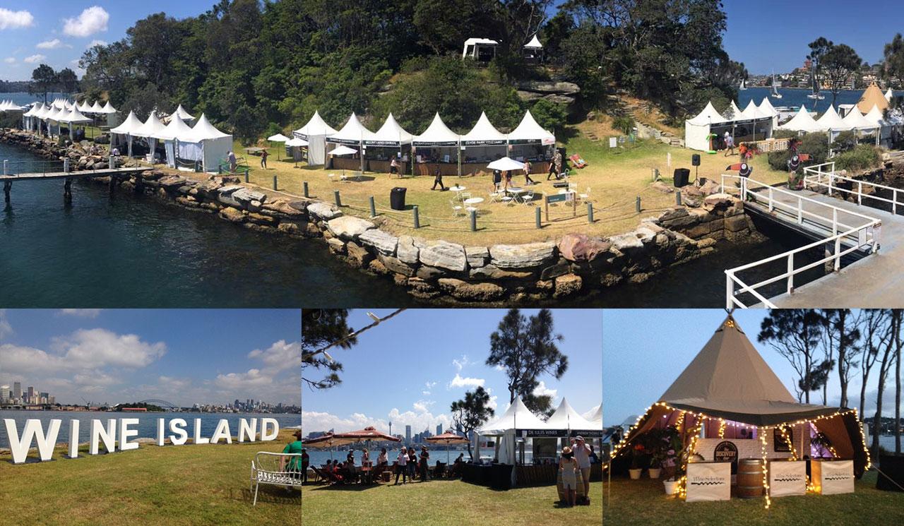 Wine Island Event
