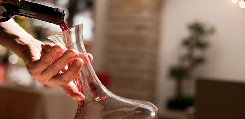 Myth: An expensive decanter is the only way to decant wine