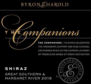Byron and Harold Companions wine