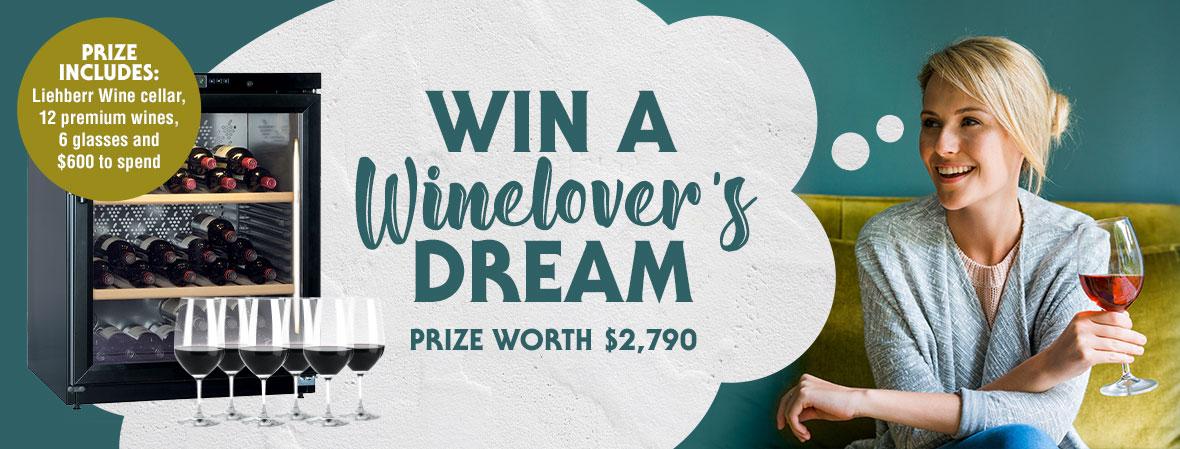 Win a Wine lover's dream prize!