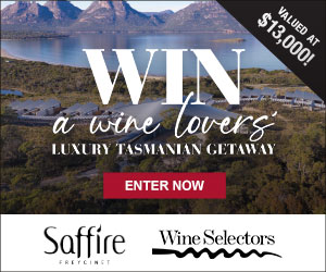 Win a Wine Lovers Luxury Tasmanian Getaway for two valued at $13,000 - Enter to WIN!