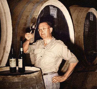 Maurice O'Shea of Mount Pleasant Wines