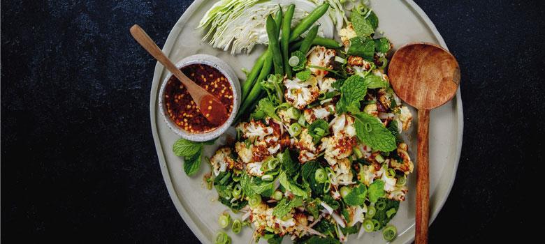 Marion and Noi's Thai Roasted Cauliflower recipe