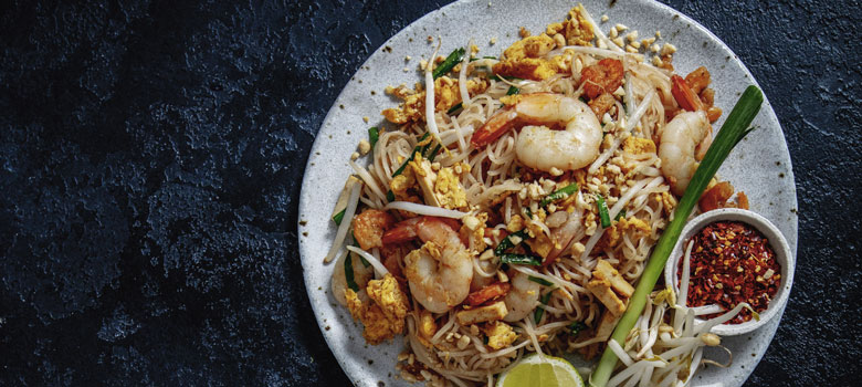 Marion and Noi's Traditional Prawn Pad Thai