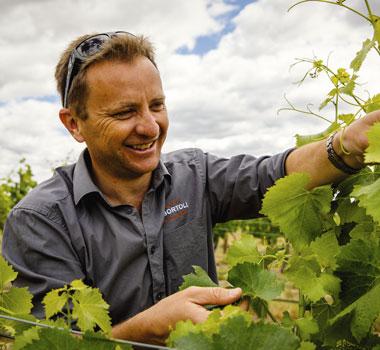 Matt Partridge, De Bortoli wines in the Rutherglen wine region.