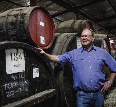 David Morris, Morris Winery in the Rutherglen wine region.