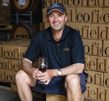 Damien Cofield of Rutherglen wine region.