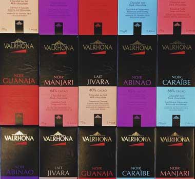 Simon Johnson Valrhona chocolate