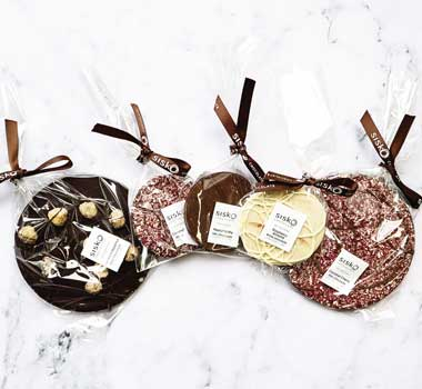 Simon Johnson's Valrhona chocolate