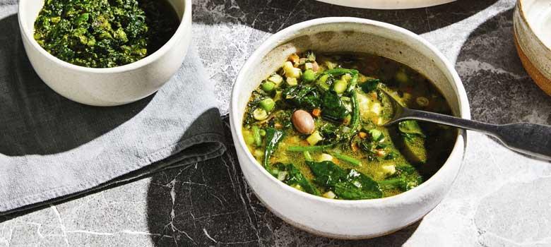 Danielle Alvarez's Green Soup