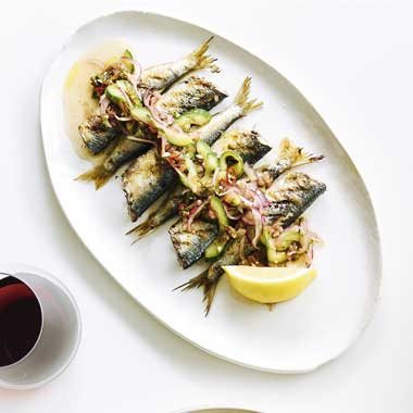 Neil Perry's Barbequed Sardines