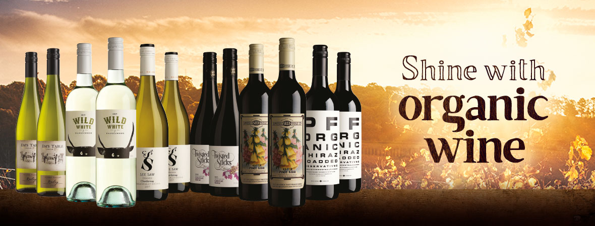 Shine with Organic Wines