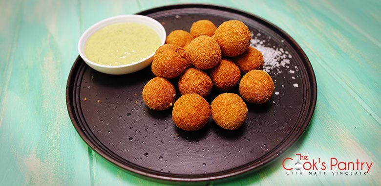 FRIED OLIVES WITH LEMON-HERB MAYONNAISE
