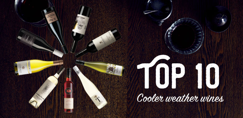Top 10 Wines for the Cooler Weather