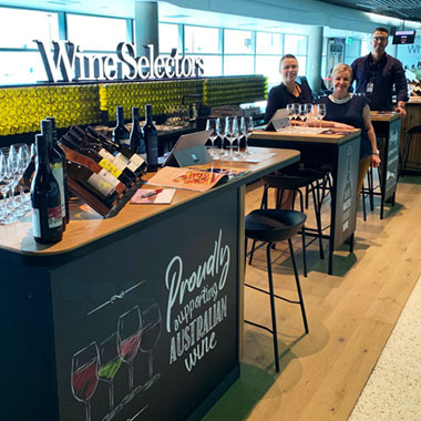 Enjoy A Delicious Tasting Before Your Next Flight
