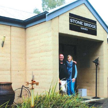 Clare Valley Wine Region's Stone Bridge wines