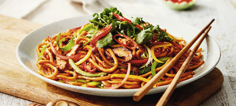 Leslie Chan's classic Shanghai stir-fried pork noodles recipe