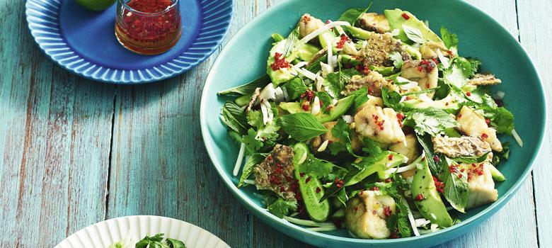 Lyndey Milan's Vietnamese Barramundi Salad