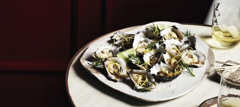 Mark Olive's Asian inspired oysters