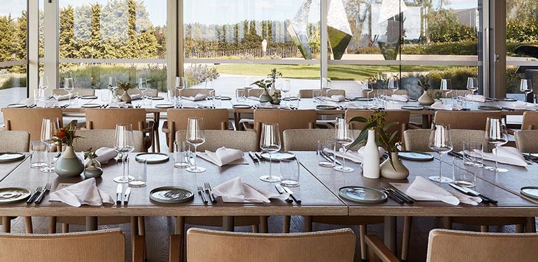 Wine and Dine at: Laura, Pt Leo Estate