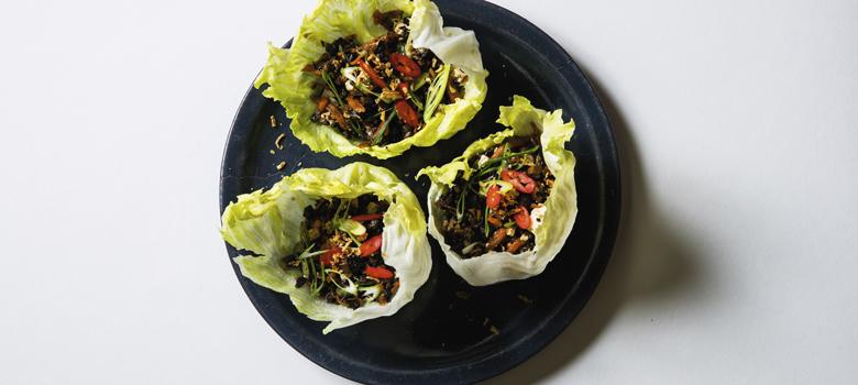 Ronni Kahn's San Choy Bau recipe