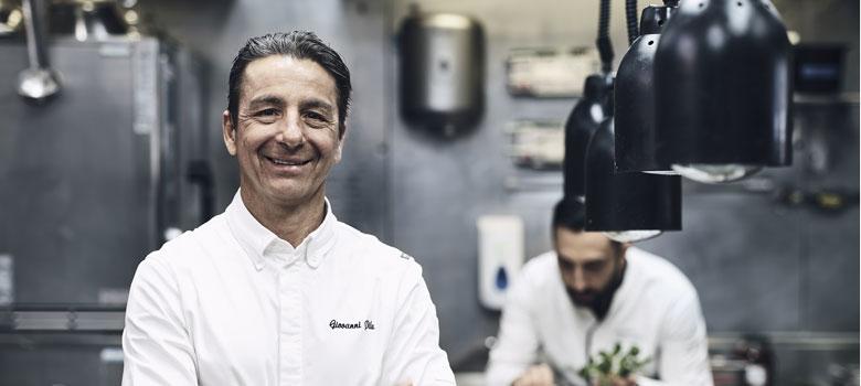 Chef Giovanni Pilu