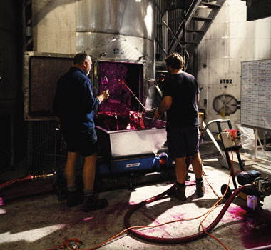 Sevenhill winemakers