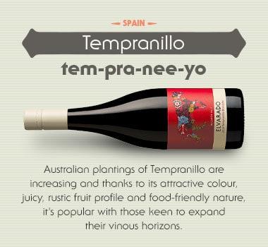 Tempranillo wine variety